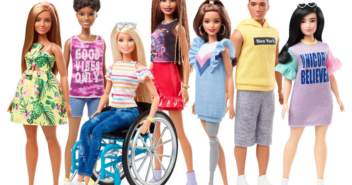 These New Barbies Come In A Wheelchair And Have A Prosthetic Leg Cbs News