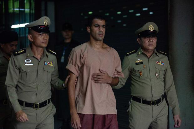 Refugee Footballer Hakeem al-Araibi Attends Court in Bangkok
