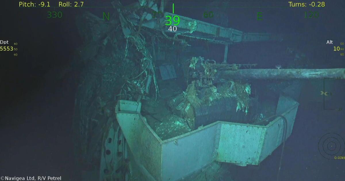 USS Hornet found: World War II aircraft carrier discovered