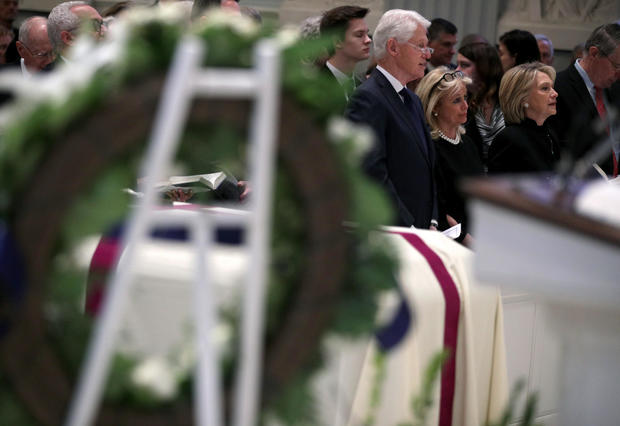 Funeral service for former U.S. Rep. John Dingell in Washington