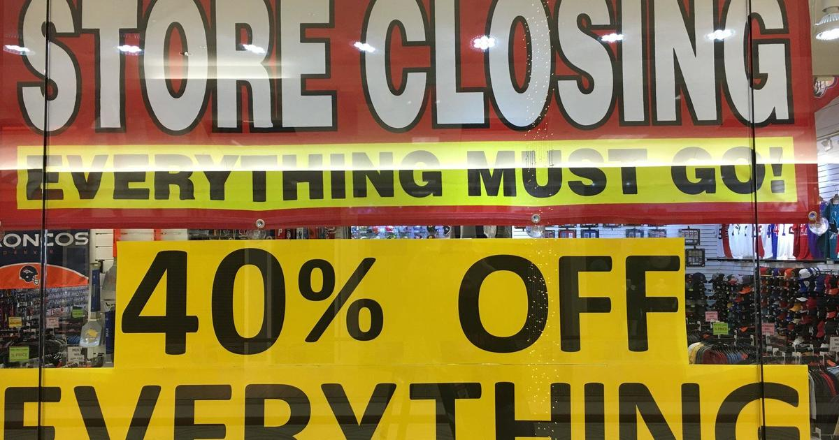 Retail graveyard: More than 7,000 U.S. stores have closed this year