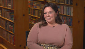 Melissa McCarthy on playing a literary grifter