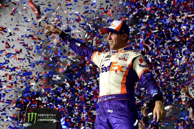 NASCAR: Daytona 500 — Denny Hamlin