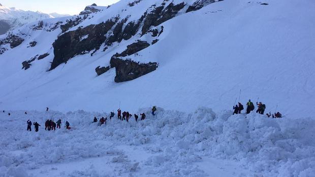 avalanche - Crans Montana