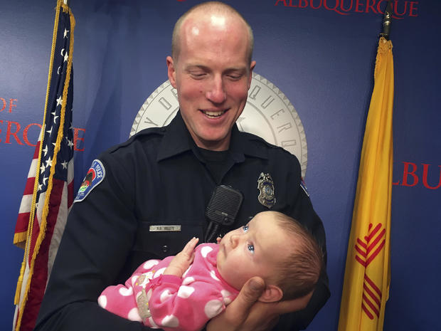 Officer Adopts Opioid Baby