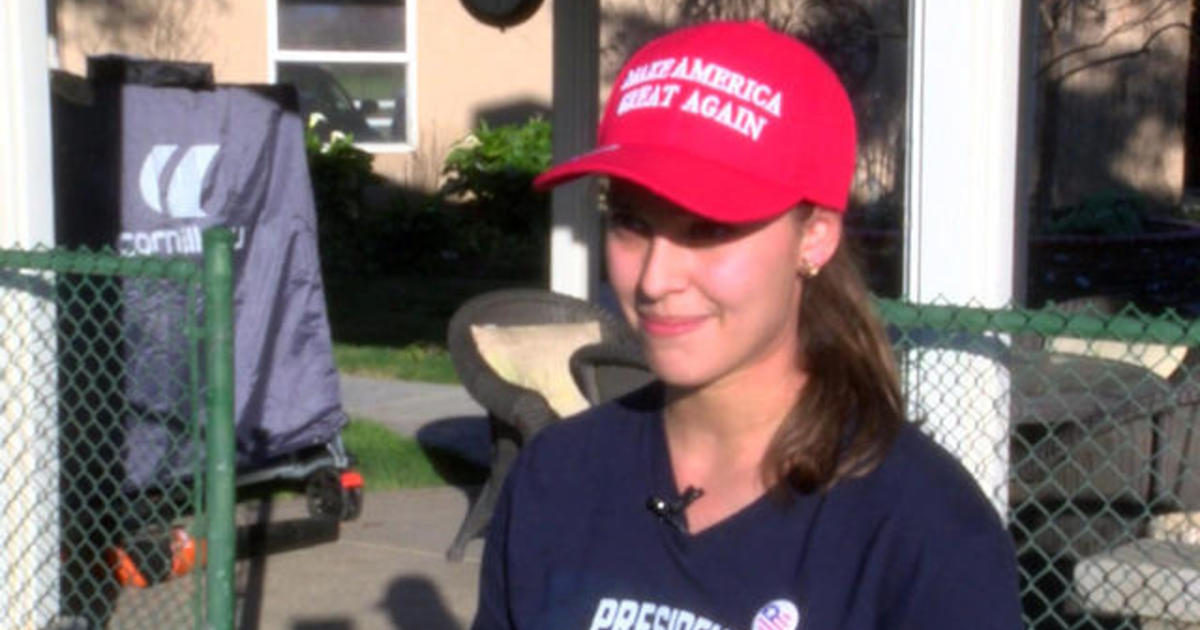 9eb1637d0fc High school student banned from wearing MAGA hat on campus - CBS News