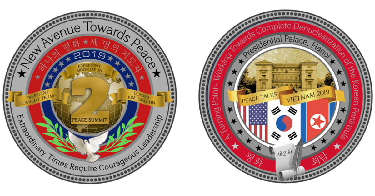 White House gift shop unveils new coin for
