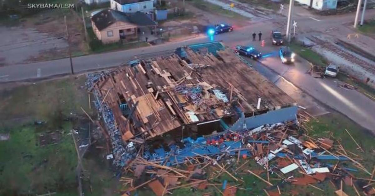 Powerful, deadly storms sweep across the U S