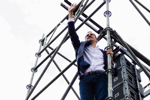 Juan Guaidó Arrives to Caracas