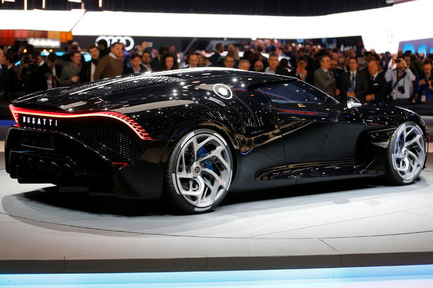 Bugatti reveals world's most expensive auto