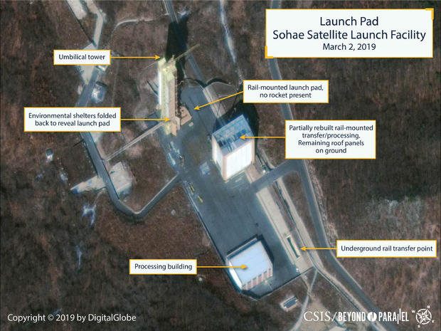 Commercial satellite image shows North Korea's Sohae Satellite Launching Station
