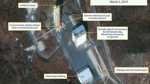 Commercial satellite image shows North Korea's Sohae Satellite Launching Station