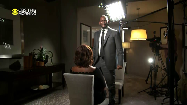 Gayle King reveals new video from R  Kelly interview on