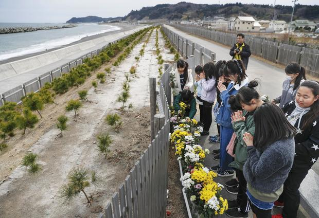 8th anniversary of 2011 northeastern Japan disaster