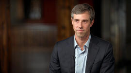 "O'Rourke last November: ""I'm not running for president"""