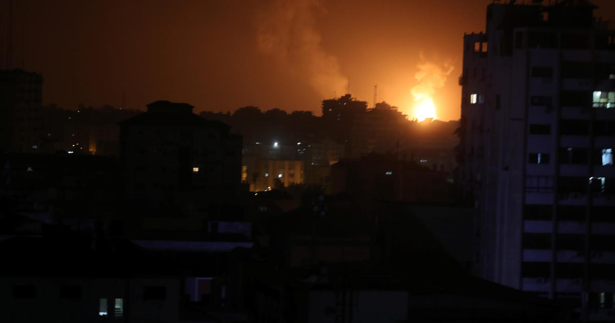 Israel begins airstrikes in response to rocket attack out of the Gaza Strip