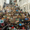 Students protest to demand action on climate change in Lisbon