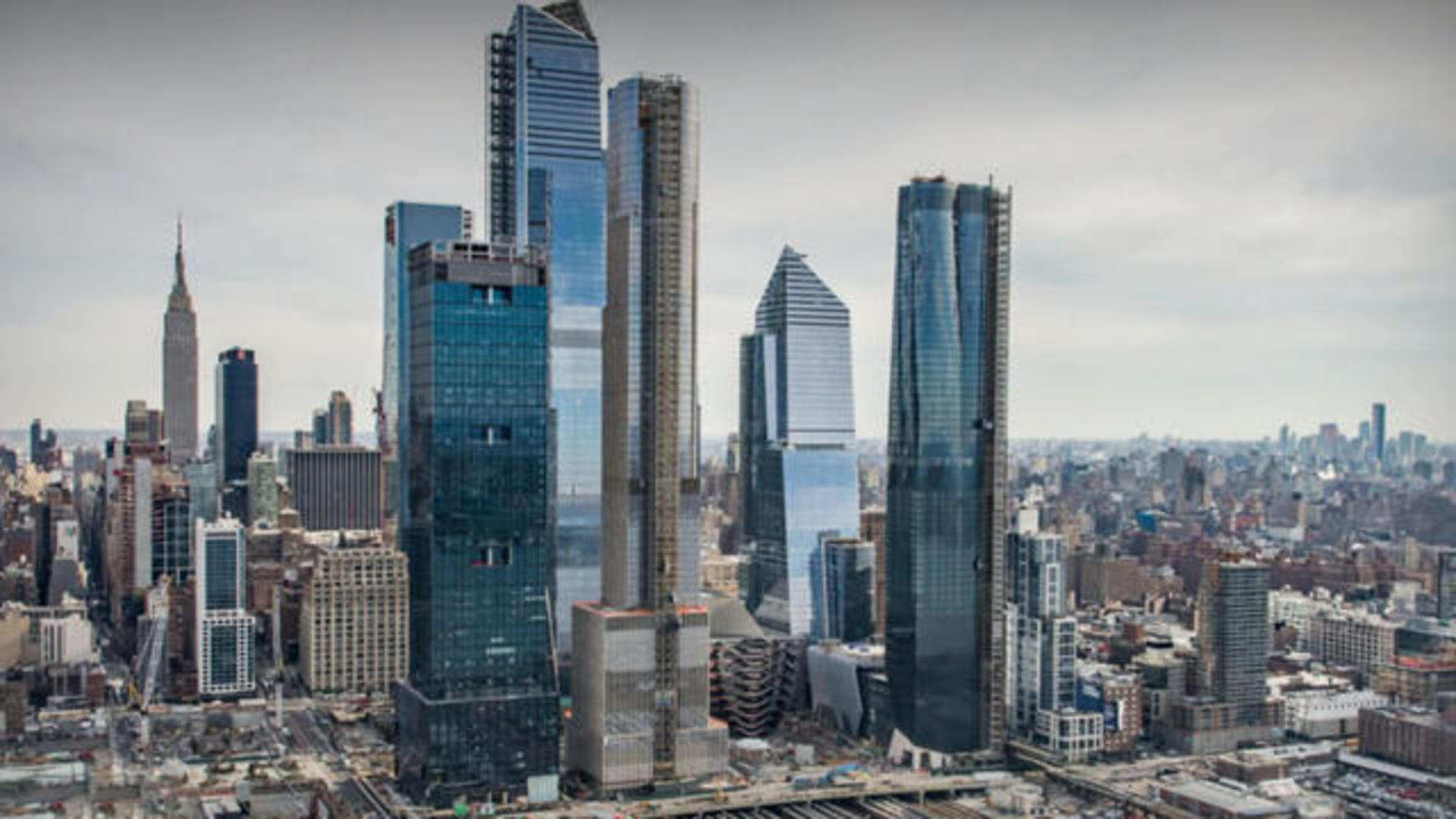 Hudson Yards Just A Billionaire S Playground Cbs News