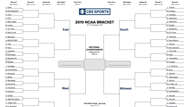 Download And Print Your Own March Madness Bracket Kcfj 570 Radio
