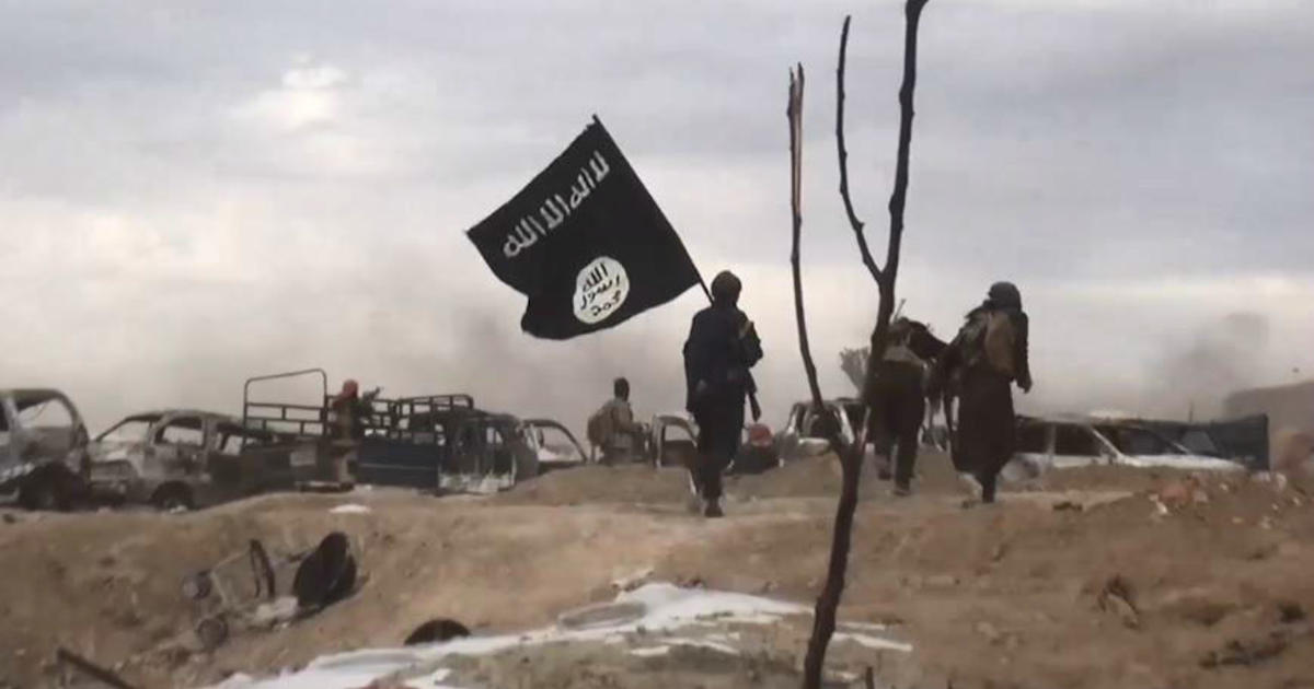 Not a single ISIS flag is flying as far as the eye can see in eastern Syria