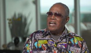 """It identifies what I believe from here"": Sam Moore on ""Soul Man"""