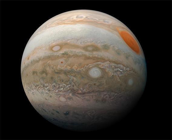 Stunning views of Jupiter