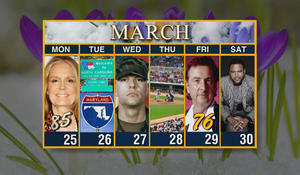 Week of March 25