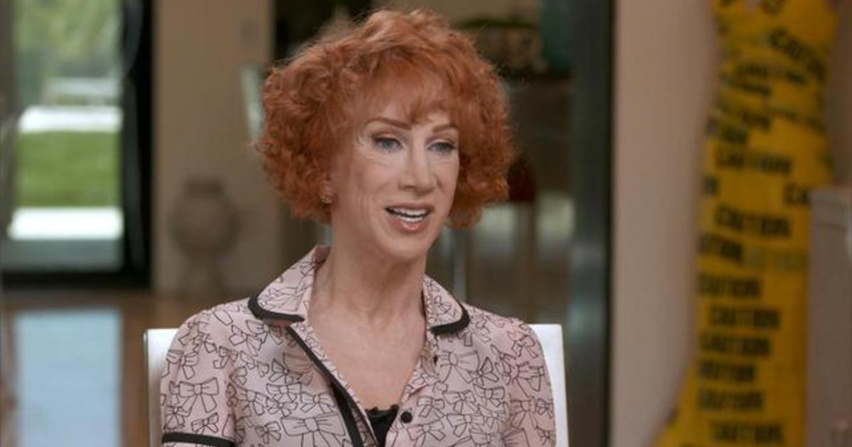 c7b8d243 Kathy Griffin on the Trump head photo: After death threats, cancellations  and investigations, the comedian says she'd do it all again - CBS News
