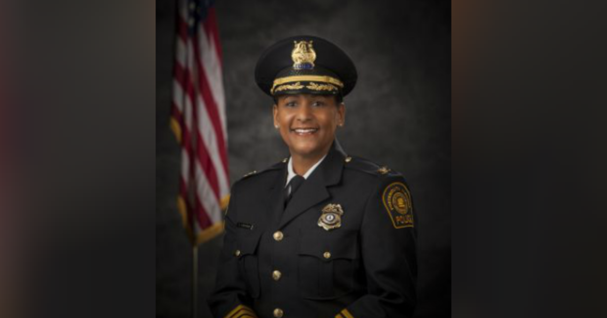 cbsnews.com - First black woman to lead Virginia police department says she was forced out