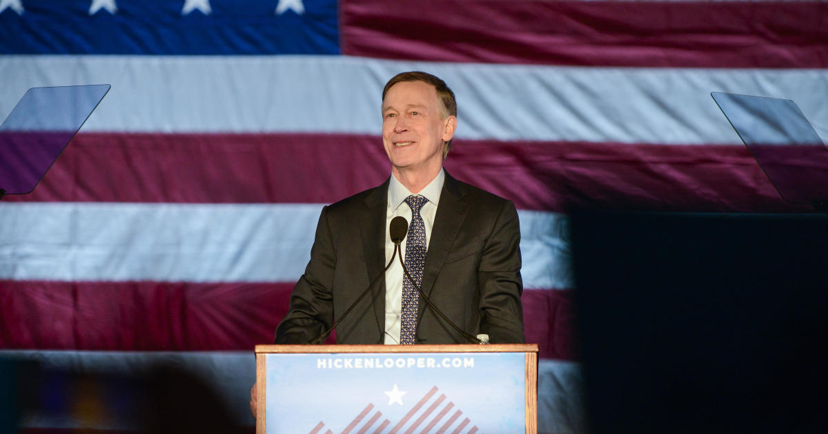 photo image John Hickenlooper to lay out first foreign policy proposal