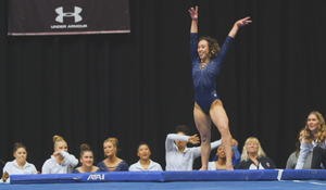 """Electrifying UCLA gymnast: """"What you see is literally how I feel"""""""