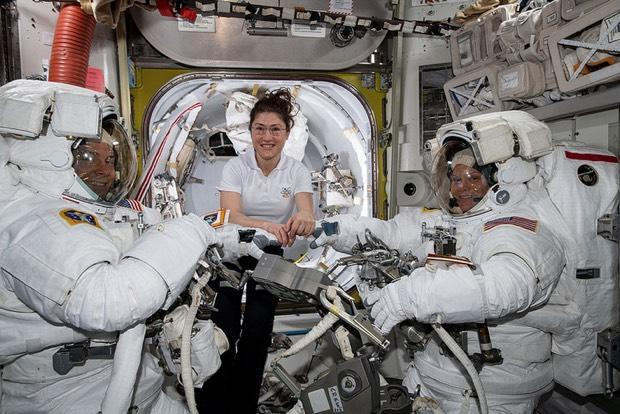 Astronauts Complete Second Spacewalk To Upgrade Station's Batteries