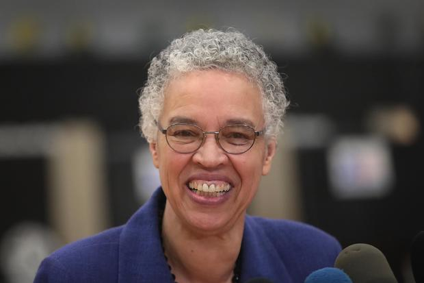 'Representation matters.' Tributes as Chicago elects first black woman as mayor