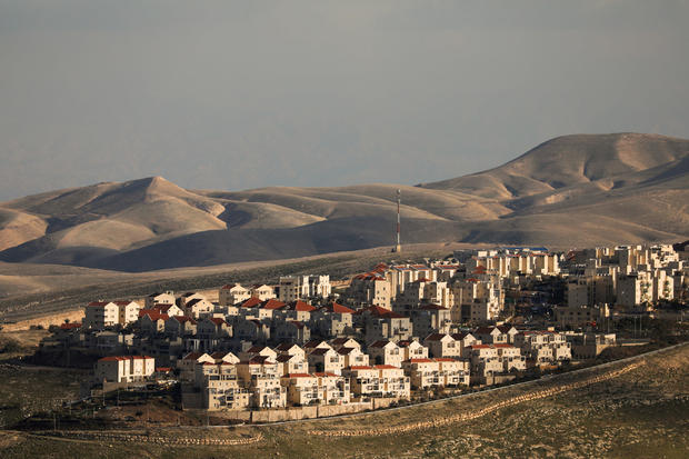 FILE PHOTO: A general view picture shows houses in the Israeli settlement of Maale Adumim, in the occupied West Bank