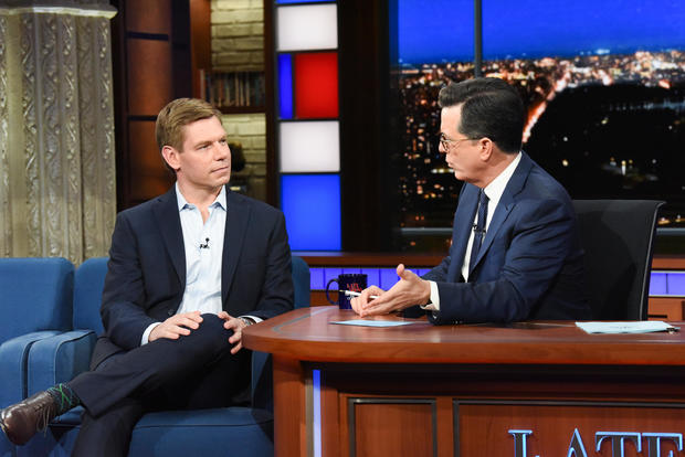 "Eric Swalwell — ""The Late Show with Stephen Colbert"""
