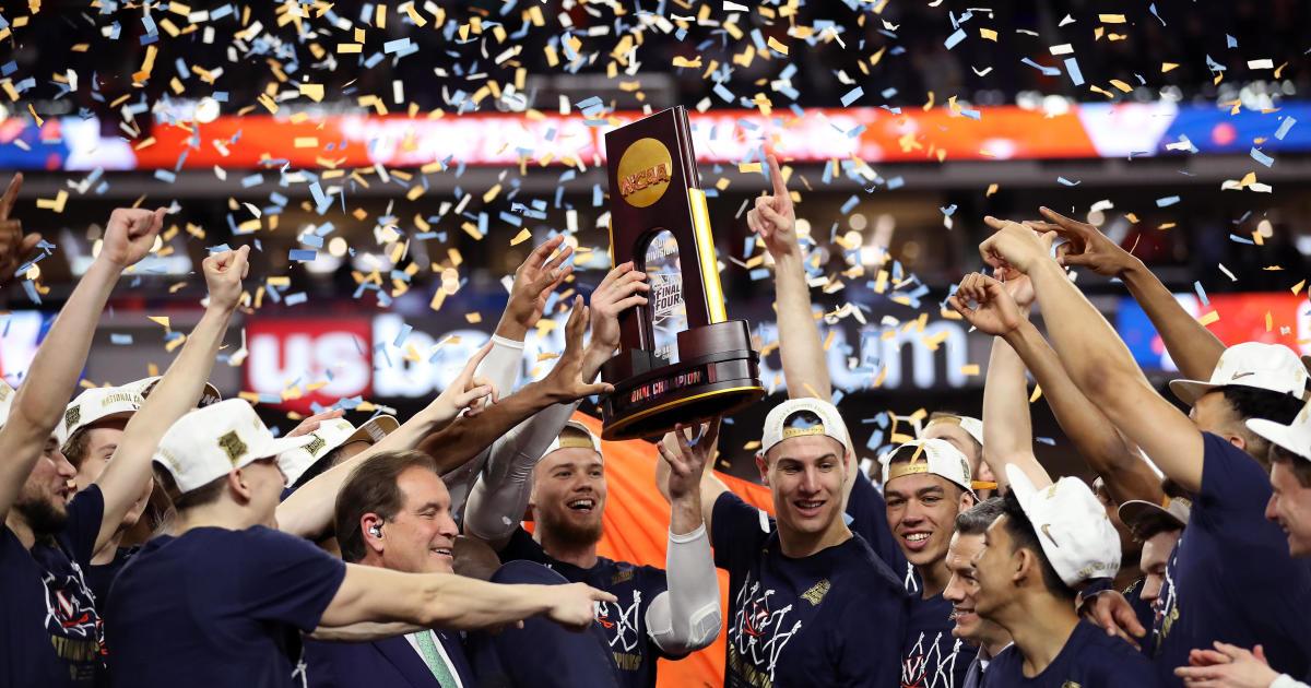 dcf07081258 NCAA championship final 2019  Virginia beats Texas Tech in overtime ...