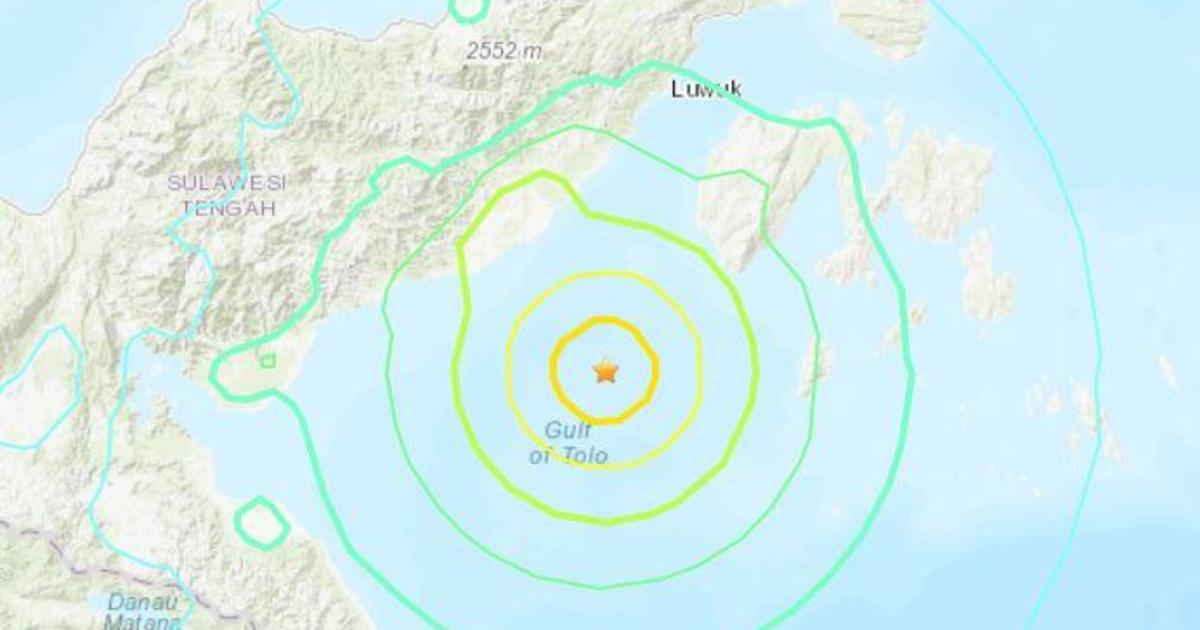 Earthquake in Indonesia prompts brief tsunami warning for ...