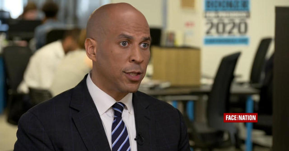 photo image Cory Booker says Trump is