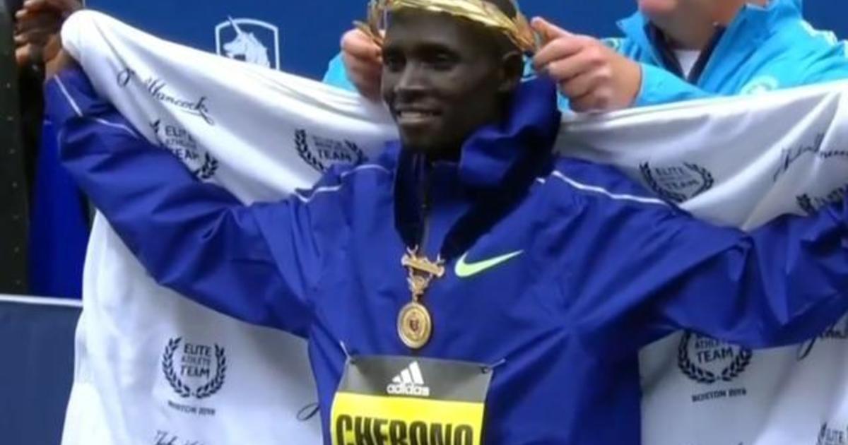 Kenya's Lawrence Cherono wins men's Boston Marathon