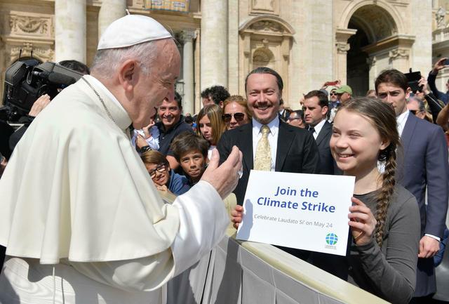 Greta Thunberg speech: Pope Francis encourages teen climate activist