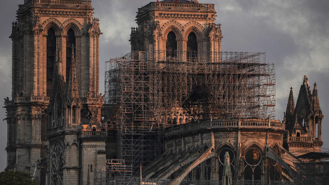 Paris Assesses Damage Following Notre Dame Blaze