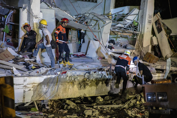 Deadly Earthquake Strikes Central Philippines