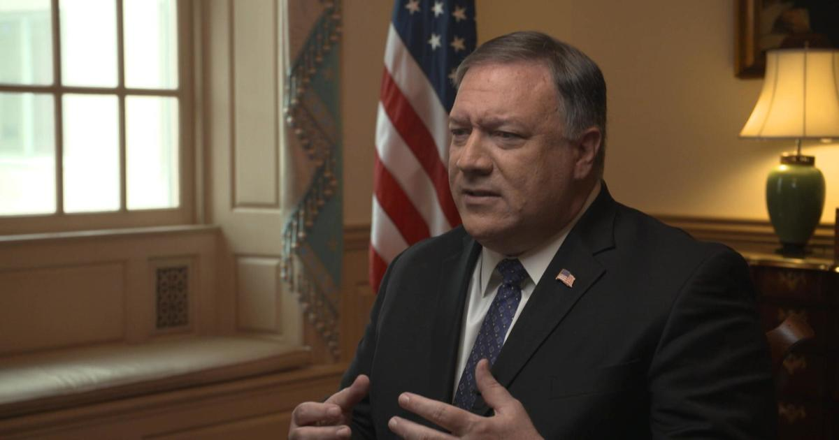 """Transcript: Mike Pompeo talks with Michael Morell on """"Intelligence Matters"""""""