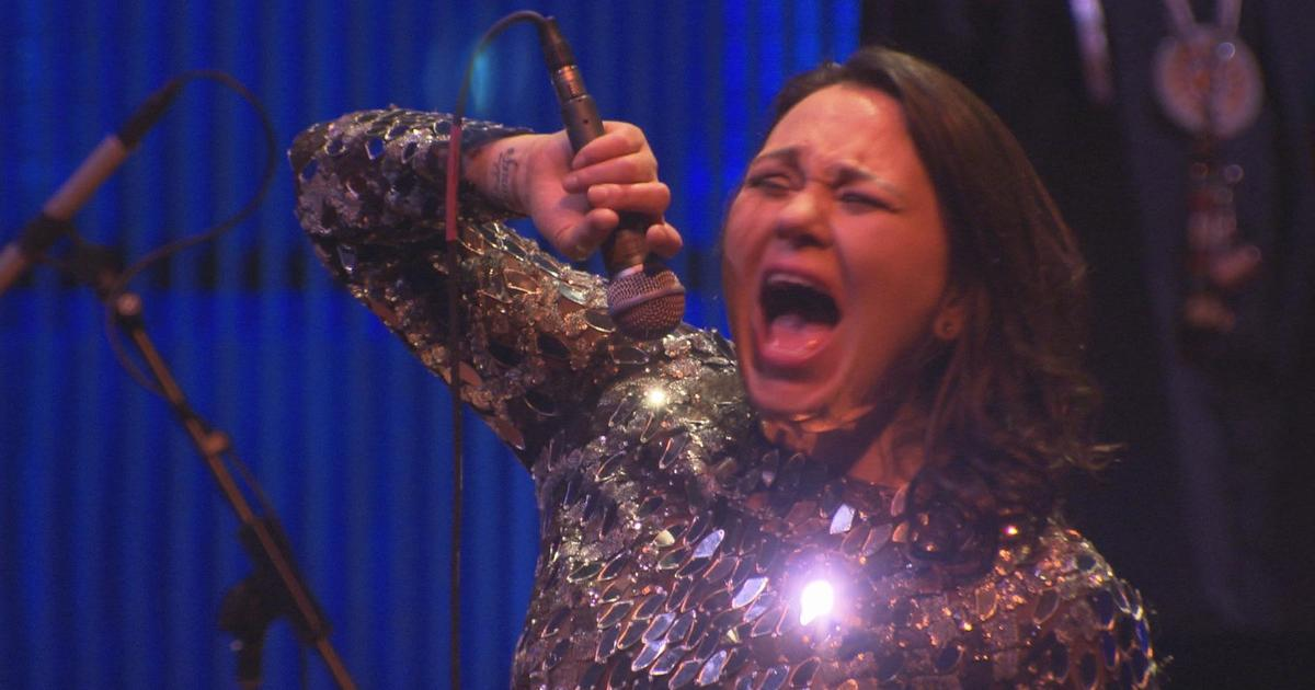 """The sounds of Inuit throat singer Tanya Tagaq - """"60 ..."""