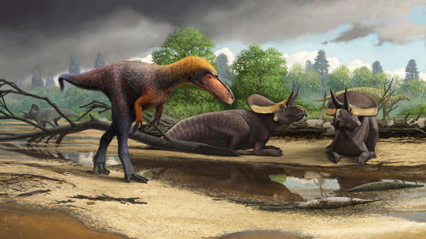 Research: New 3-foot-tall relative of Tyrannosaurus rex
