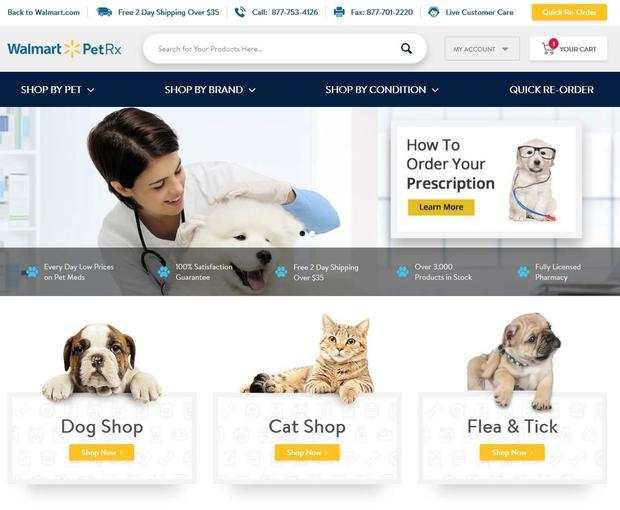 Walmart targets millennial shoppers by offering pet care