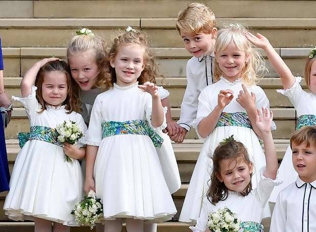 Britain's royal great-grandchildren