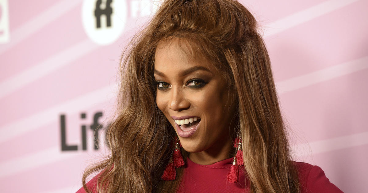 d2d38d493fa8d Tyra Banks Sports Illustrated Swimsuit Issue: Tyra Banks makes her return  to modeling with third Sports Illustrated Swimsuit cover - CBS News