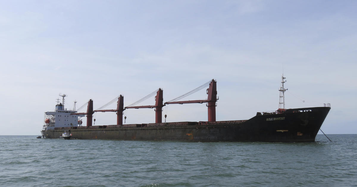 North Korean cargo ship Wise Honest seized by U.S. today for violating sanctions thumbnail