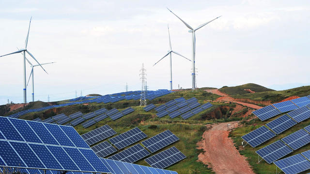 Renewable Energy Power Plant Built In Zhangjiakou